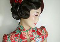 民国旗袍化妆造型